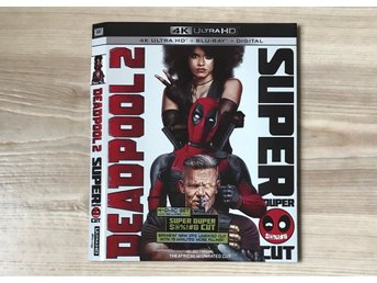 Deadpool 2 4K slipcover (BARA SLIPCOVER)