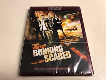 RUNNING SCARED (HD DVD) Ny inplastad