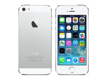 Apple iPhone 5s 64GB, silver, RIMLIGT SKICK