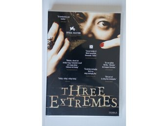 Three extremes, DVD