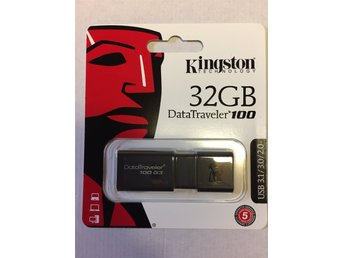 USB-minne Kingston 32GB - helt nytt