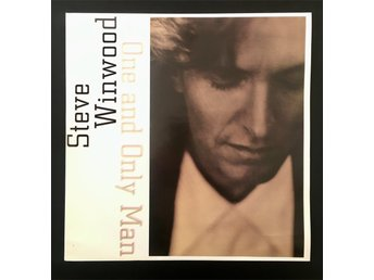 "Steve Winwood /   ""One and only man""   /   12"" Vinyl  /  , 1990"