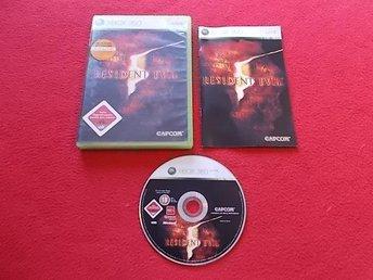 RESIDENT EVIL 5 till Xbox 360 - Blomstermåla - RESIDENT EVIL 5 till Xbox 360 - Blomstermåla