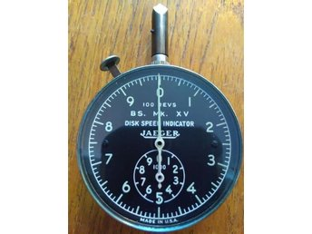 U.S. AIR FORCES Disk speed indicator JAEGER