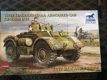 Bronco - T17E2 staghound A.A. Armoured car. 1:35
