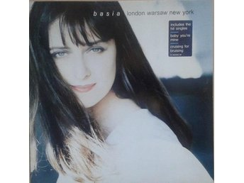 Basia title* London Warsaw New York* Synth-pop, Contemporary Jazz LP UK & EU