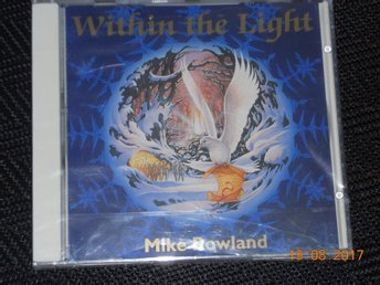 MIKE ROWLAND - Within the light, Inplastad CD Oreade Music '97 Meditation - Gävle - MIKE ROWLAND - Within the light, Inplastad CD Oreade Music '97 Meditation - Gävle