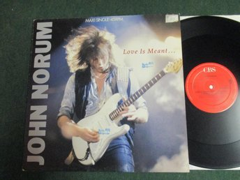 "John Norum ""Love Is Meant...(To Last Forever)"""