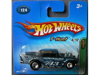 1957 Chevrolet Hot Wheels Nr124 2005 Treasure Hunt T-Hunt 4/12