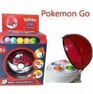 Ny Pokemon Pokeball Rocket Shot Poke Ball  och 2pikatchu figurer