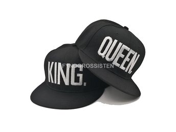2st Kepsar För Par King   Queen S.. (302671928) ᐈ FyndGrossisten på ... 4073fa196c49e