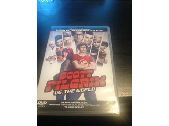 scott pilgrim us. The World ,  komedi, dvd med Michael cera