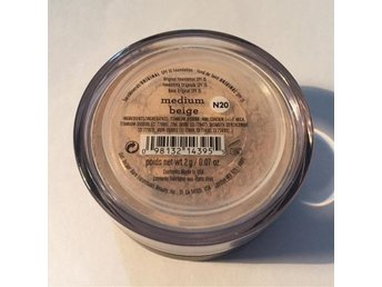 "Bare minerals foundation ""medium beige"" 2g Ny!"