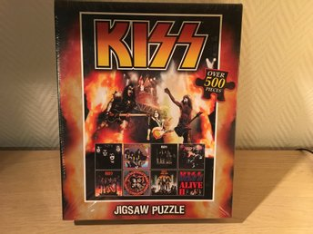 Kiss - pussel sealed