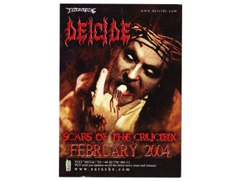 DEICIDE - SCars of th crucifix  Flyer  NY