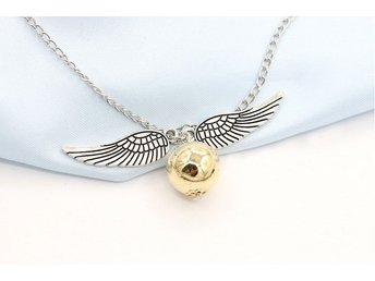 Harry potter Necklace halsband golden snitch v2