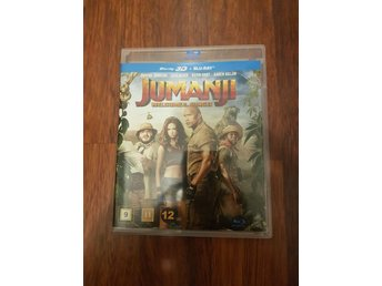 Bluray Jumanji 3D Blueray