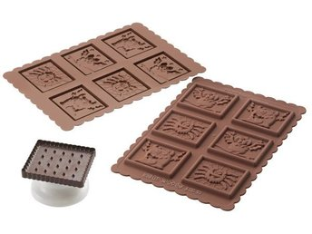 Silikomart Cookie Choc Utstickare Monster Set