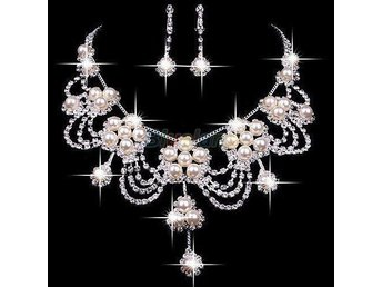 Bridal wedding party jewelry set