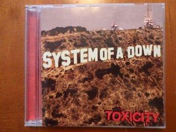 System of A Down - Toxicity, CD i mycket bra skick - Sollentuna - System of A Down - Toxicity, CD i mycket bra skick - Sollentuna