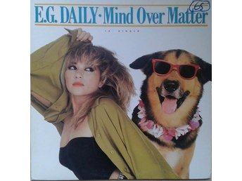E.G. Daily title* Mind Over Matter* Synth-pop, Disco US 12""