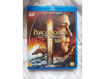 BLU-RAY 3D PERCY JACKSON SEA OF MONSTERS.