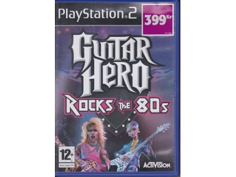 Guitar Hero - Rocks the 80s, PlayStation 2