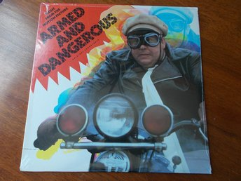 V/A ARMED AND DANGEROUS LP Soundtrack Manhattan 1986 SEALED John Candy