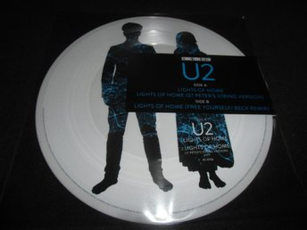 "U2 - Lights of home - Picture Disc 12"" - RSD 2018 - Ny"