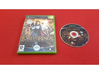 LORD OF THE RINGS RETURN OF THE KING till Xbox