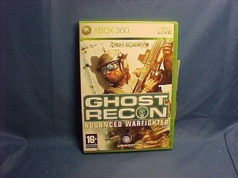 Ghost Recon  Advanced Warfighter - XBOX 360 spel