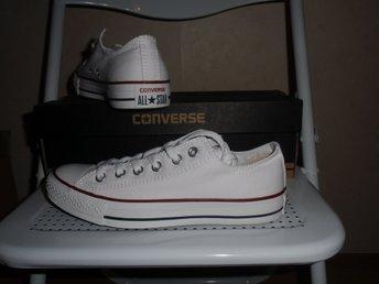 Nya Converse skor stl 37