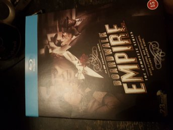 Boardwalk Empire BLURAY HELA SERIEN 23 Disc