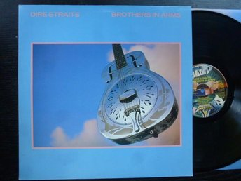 DIRE STRAITS - Brothers in arms  Vertigo Holland -85  LP med tryckt innerfodral