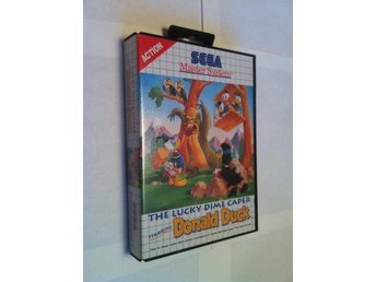 Master System: The Lucky Dime Caper - Starring Donald Duck