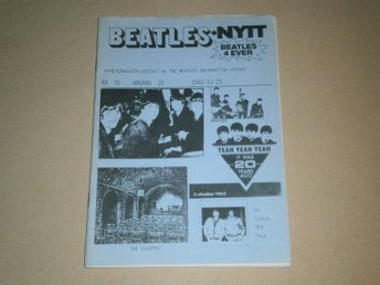 BEATLES-NYTT #55 (November 1982) - Fint Skick!
