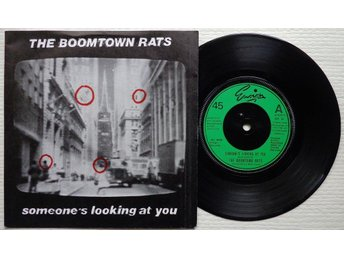 """BOOMTOWN RATS 'Someone's Looking At You' 1979 UK 7"""" - Bröndby - BOOMTOWN RATS 'Someone's Looking At You' 1979 UK 7"""" - Bröndby"""