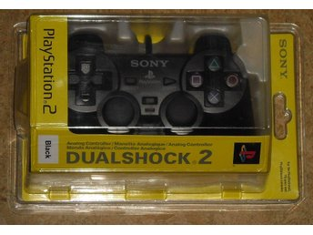 NY! Handkontroll (Sony-original, Dualshock 2) till PlayStation 2/PS2