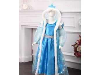 Elsa klänning (inkl huva), Frozen, ca. 110-120, Frost - Sheung Wan - Elsa klänning (inkl huva), Frozen, ca. 110-120, Frost - Sheung Wan