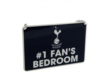 Tottenham Metallskylt No1 Fan
