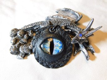 Draköga Hänge Dragon Eye Pendant Nr 2  ( 50 mm )
