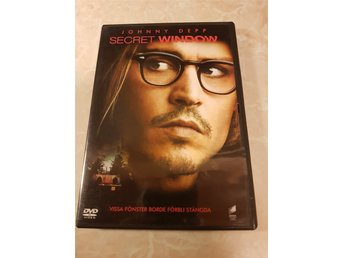Secret Window ( Johnny Depp ) Utgått!