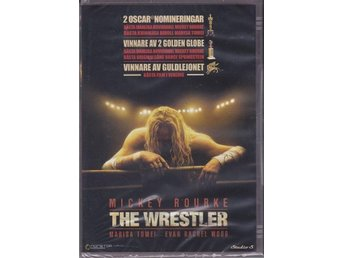 THE WRESTLER-MICKEY ROURKE-SVENSK TEXT-INPLASTAD DVD.