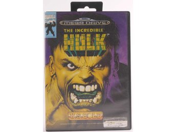 The Incredible Hulk - Sega Mega Drive / Genesis - PAL (EU)