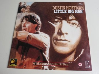 LITTLE BIG MAN (Laserdisc) Dustin Hoffman