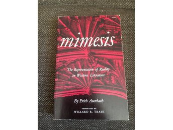 Mimesis The Representation of Reality in Western Literature By Erich Auerbach