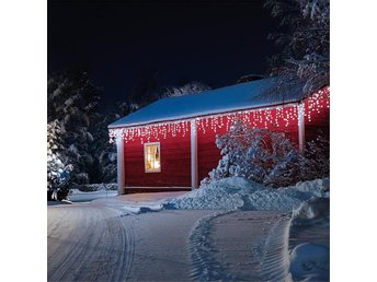 Blumfeldt Dreamhouse ljusslinga 24m 480 LED varmvit Snow Motion