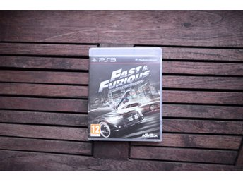 Playstation 3 spel PS3 Fast and the Furius Showdown