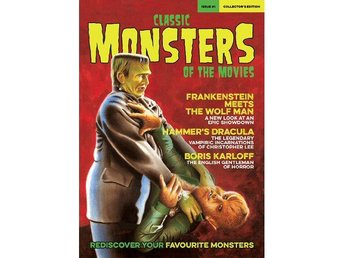 Classic Monsters Of The Movies -# 1 magazine FIRST ISSUE - Motala - Classic Monsters Of The Movies -# 1 magazine FIRST ISSUE - Motala