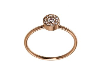 Edblad Thassos ring mini rose gold 17.5mm ringa Medium